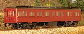 Con-Cor Heavyweight 65 Branchline Solarium-Observation Painted HO Scale Model Passenger Car #94400