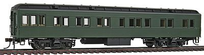 Con-Cor Heavyweight 65' Branchline Solarium-Observation Painted -- HO Scale Model Passenger Car -- #94401