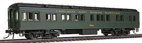 Con-Cor Heavyweight 65 Branchline Solarium-Observation Chicago HO Scale Model Passenger Car #94402