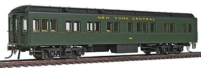 Con-Cor Heavyweight 65' Branchline Solarium-Observation NYC -- HO Scale Model Train Passenger Car -- #94404
