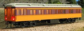 Con-Cor Heavyweight 65 Solarium-Observation Milwaukee Road HO Scale Model Train Passenger Car #94408