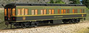 Con-Cor Heavyweight 65 Solarium-Observation Canadian National HO Scale Model Passenger Car #94412