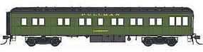 Con-Cor Heavyweight 65 Branchline Solarium-Observation Pullman HO Scale Model Passenger Car #94414