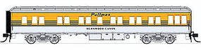 Con-Cor Heavyweight 65' Solarium-Observation Denver & Rio HO Scale Model Passenger Car #94417