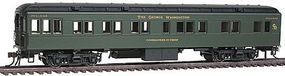 Con-Cor Heavyweight 65 Branchline Solarium-Observation Chesapeake HO Scale Model Passenger Car #94419