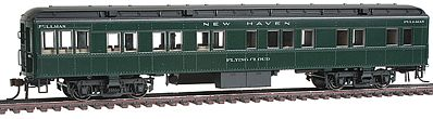 Con-Cor Heavyweight 65' Branchline Solarium-Observation New Haven -- HO Scale Model Passenger Car -- #94421