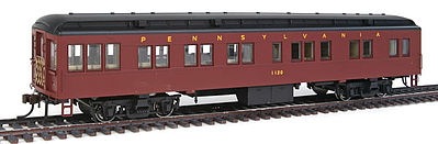 Con-Cor Solarium Pennsylvania RR #1120 Futura -- HO Scale Model Train Passenger Car -- #94431