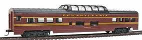 Con-Cor 72 Streamline Vista Dome Pennsylvania Railroad HO Scale Model Train Passenger Car #945