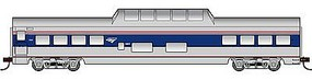 Con-Cor 72 Streamline Smooth-Side Dome Amtrak HO Scale Model Train Passenger Car #94702