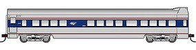 Con-Cor 72 Streamline Smooth-Side Observation Amtrak HO Scale Model Train Passenger Car #94703