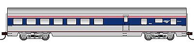 Con-Cor 72' Streamline Smooth-Side Diner Amtrak -- HO Scale Model Train Passenger Car -- #94705