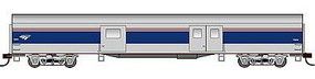 Con-Cor 72 Streamline Smooth-Side Baggage Amtrak HO Scale Model Train Passenger Car #94706