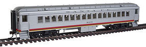 Con-Cor Heavyweight Coach ATSF #2 HO Scale Model Train Passenger Car #95001