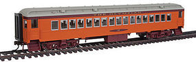 Con-Cor Heavyweight Coach MILW #2 HO Scale Model Train Passenger Car #95010