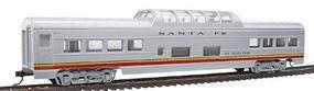 Con-Cor 72 Streamline Vista Dome Santa Fe Valley Flyer HO Scale Model Train Passenger Car #950