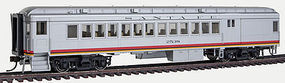 Con-Cor Heavyweight Combine ATSF #2 HO Scale Model Train Passenger Car #95151