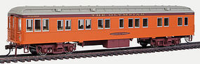 Con-Cor 65 Heavyweight Solarium MILW #2 HO Scale Model Train Passenger Car #95204