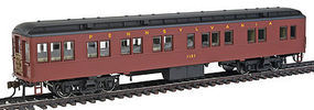 Con-Cor Solarium Pennsylvania RR #1121 Futura HO Scale Model Train Passenger Car #95205
