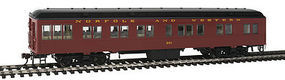 Con-Cor Solarium Norfolk & Western #221 Tuscan HO Scale Model Train Passenger Car #95206