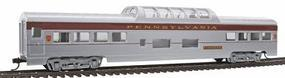 Con-Cor 72 Streamline Vista Dome Pennsylvania RR Senator HO Scale Model Train Passenger Car #957