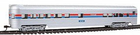 Con-Cor 72 Streamline Observation Amtrak (Phase II) HO Scale Model Train Passenger Car #966