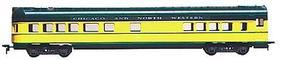 Con-Cor 72 Streamline Observation Chicago & North Western HO Scale Model Train Passenger Car #976