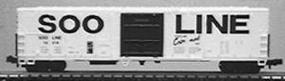 Con-Cor 57 Mechanical Reefer Soo Line HO Scale Model Train Freight Car #9807