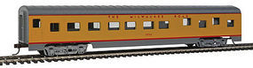 Con-Cor 72 Streamline Sleeper Milwaukee Road HO Scale Model Train Passenger Car #989
