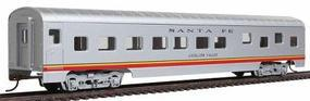 Con-Cor 72 Streamline Sleeper Santa Fe Valley Flyer HO Scale Model Train Passenger Car #990