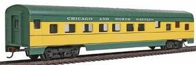 Con-Cor 72' Streamline Sleeper Chicago & North Western HO Scale Model Train Passenger Car #996