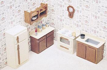 Corona Concepts Kitchen Furniture -- Wooden Doll House Kit -- #7205