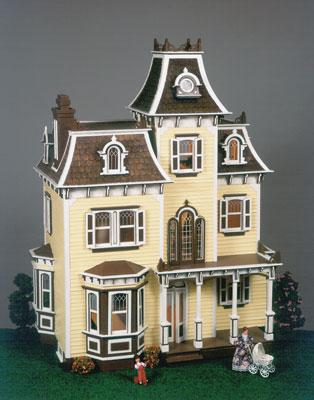 Corona Concepts Greenleaf The Beacon Hill -- Wooden Doll House Kit -- #8002