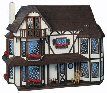 Corona Concepts Greenleaf The Harrison -- Wooden Doll House Kit -- #8006