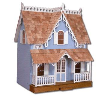 Corona Concepts Greenleaf The Arthur -- Wooden Doll House Kit -- #8012