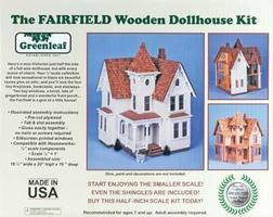 Corona Greenleaf The Fairfield Wooden Doll House Kit #8015