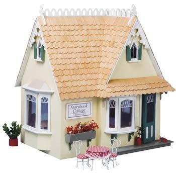 Corona Concepts Greenleaf The Storybook -- Wooden Doll House Kit -- #8021