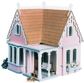 Corona Concepts Greenleaf The Coventry Cottage -- Wooden Doll House Kit -- #8023