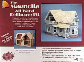 Corona Greenleaf The Magnolia Wooden Doll House Kit #9303