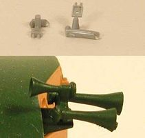 Cal Horn Mount Bracket (2) (Plastic) HO Scale Miscellaneous Train Part #620