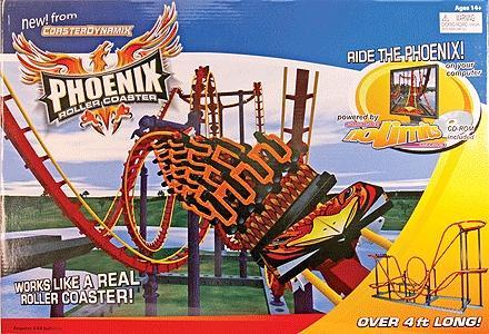 CoasterDynamix, Inc Phoenix Roller Coaster -- Standard Kit - O-Scale