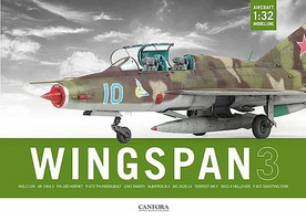 Canfora Wingspan Vol.3- 1/32 Aircraft Modelling