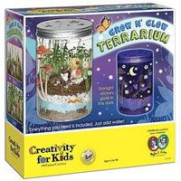 Creativity-for-Kids Grow N Glow Terrarium