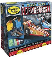 Creativity-for-Kids Duct Tape Dragster Activity Craft Kit #1855000