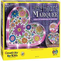 Creativity-for-Kids Light-Up Heart Marquee Art And Craft Miscellaneous #6101000