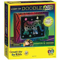 Creativity-for-Kids Light-Up Doodle Art Art And Craft Miscellaneous #6103000