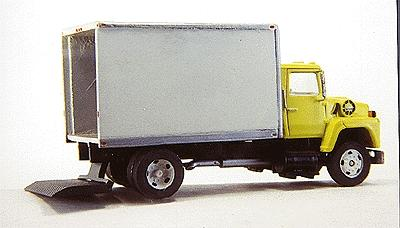 Custom Finishing 13' Gnrl mrchndse trk bdy - HO-Scale