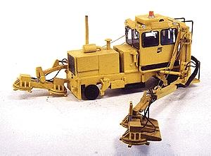 Custom Finishing Pyke on-trk brush cutter - HO-Scale