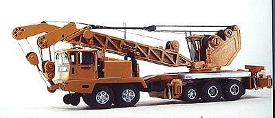 Custom-Finish Wrecking crane 150T Krshw - HO-Scale
