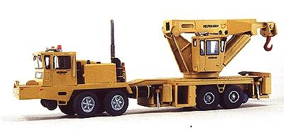 Custom Finishing Wrecking crane 100T Krshw - HO-Scale