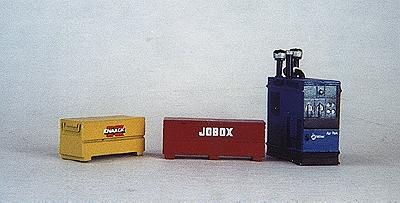 Custom Finishing Welders & job tool boxes - HO-Scale